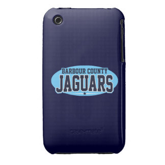 Barbour County High School Jaguars iPhone 3 Covers