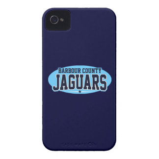Barbour County High School Jaguars iPhone 4 Case-Mate Case