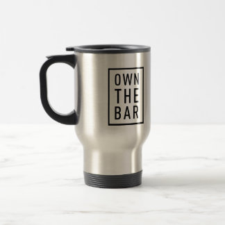 BARBRI #OwnTheBar Travel Mug