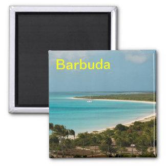 Barbuda Square Magnet