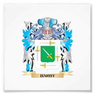 Barby Coat of Arms Photograph