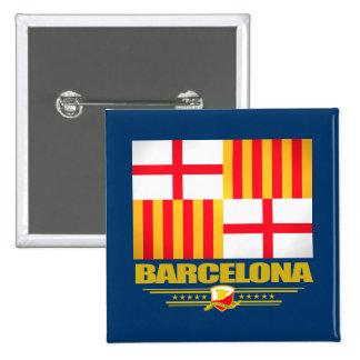 Barcelona 15 Cm Square Badge