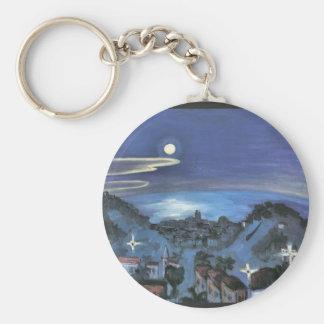 Barcelona  by Walter Gramatte Key Chain