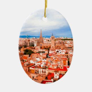 Barcelona Christmas Ornament