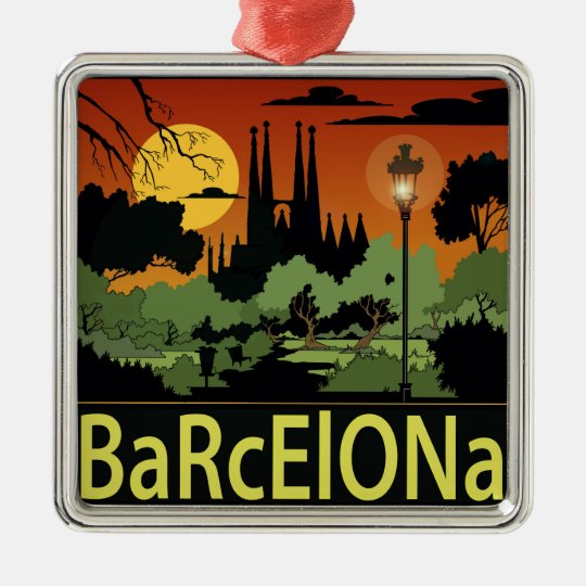 Barcelona Christmas Ornament
