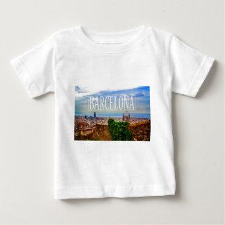 Barcelona city baby T-Shirt