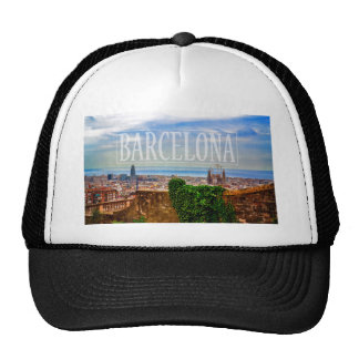Barcelona city cap