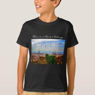 Barcelona city T-Shirt