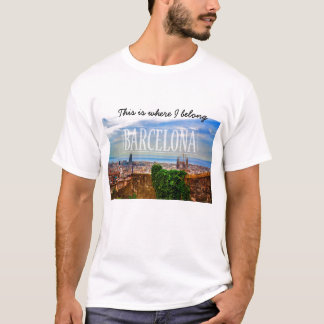 Barcelona city T-Shirt