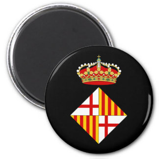 Barcelona Coat Of Arms Magnet