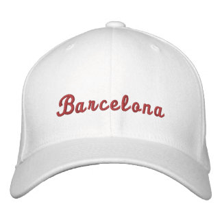 Barcelona Embroidered Hats