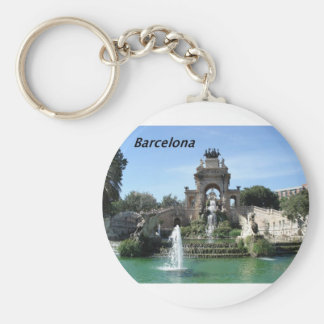 Barcelona--fountain--barc--[kan.k].JPG Key Ring
