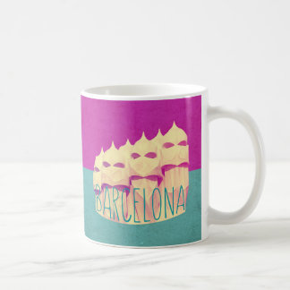 Gaudi mugs coffee mugs cups zazzle uk for Mug barcelona