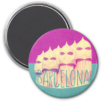 Barcelona Gaudi Paradise Magnet