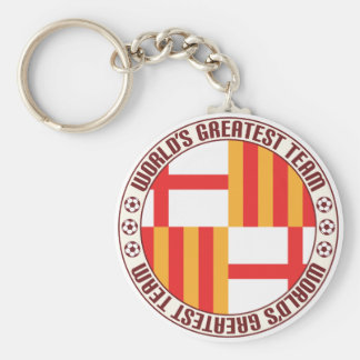 Barcelona Greatest Team Key Ring