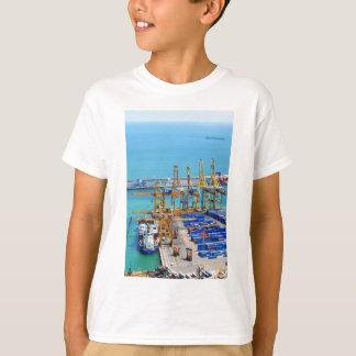Barcelona harbour T-Shirt