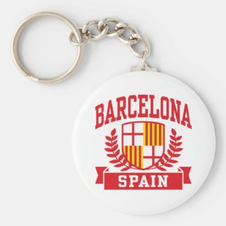 Barcelona Key Ring