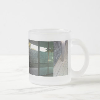 Barcelona Pavilion Frosted Glass Coffee Mug