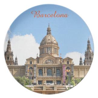 Barcelona Plate