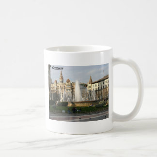Barcelona-Plaza-Angie.JPG Coffee Mug