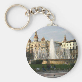 Barcelona-Plaza-Angie.JPG Key Ring