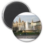 Barcelona--Plaza--Catalunya--[kan.k].JPG Fridge Magnet