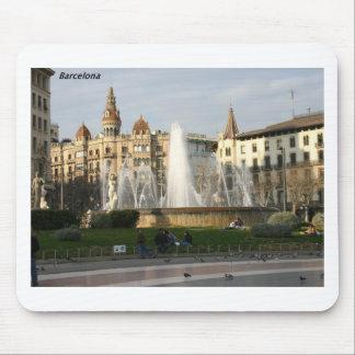 Barcelona--Plaza--Catalunya--[kan.k].JPG Mouse Mat