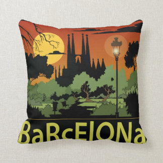 "Barcelona Polyester Throw Pillow 16"" x 16"""