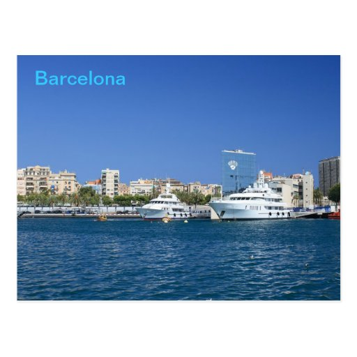 Barcelona Port Post Cards
