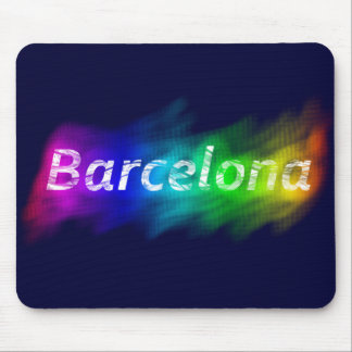 Barcelona Proud City Mouse Mat