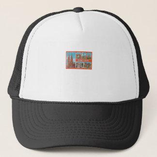 Barcelona retrospect trucker hat