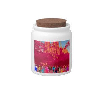 BARCELONA (SAGRADA FAMILIA) CANDY JARS