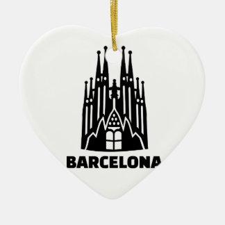 Barcelona Sagrada Familia Christmas Ornament