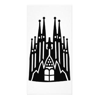 Barcelona Sagrada Familia Picture Card