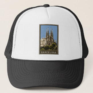 Barcelona Sagrada Familia Trucker Hat