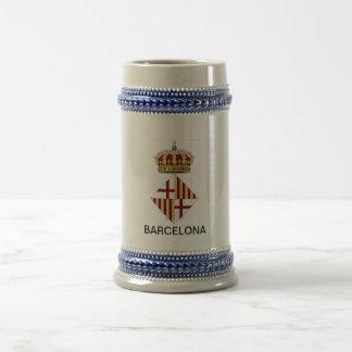 Barcelona (Spain) Coat of Arms Coffee Mug