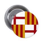 Barcelona (Spain) Flag Button