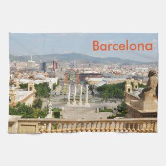 Barcelona, Spain Kitchen Towel