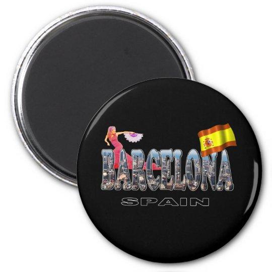 Barcelona Spain Magnet