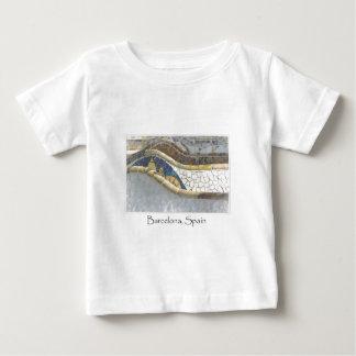 Barcelona Spain Parc Guell Tourist Destination Baby T-Shirt