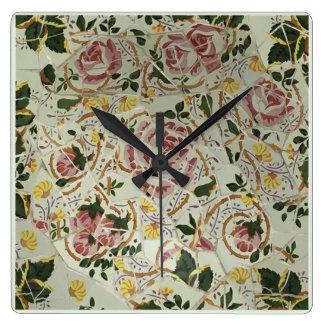 Barcelona Spain, Park Güell, Wall Clock #21