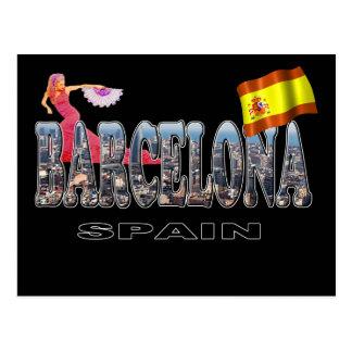Barcelona Spain Postcards