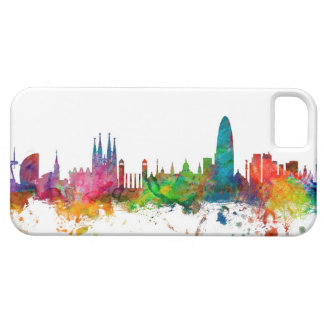 Barcelona Spain Skyline iPhone 5 Covers