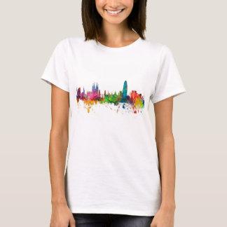 Barcelona Spain Skyline T-Shirt