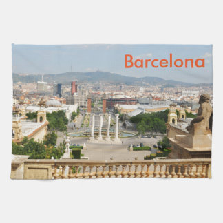 Barcelona, Spain Tea Towel