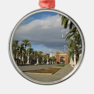 Barcelona The Arc de Triomf Christmas Ornament