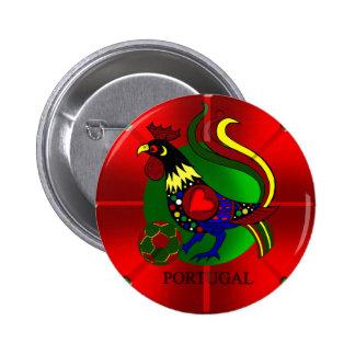 Barcelos Futebol - Por Tugas de Portugal Pinback Buttons