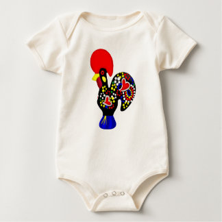 Barcelos Galo do Portugal por os portugueses Baby Bodysuit