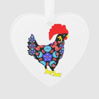 Barcelos Rooster Portuguese National Emblem Ornament
