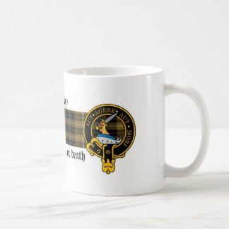 Barclay Scottish Crest and Tartan mug